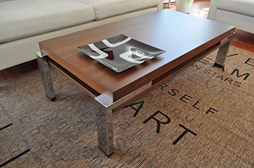 Carl Svensson Design Couchtisch Tisch Wohnzimmertisch K-111 (Nussbaum/Walnuss)