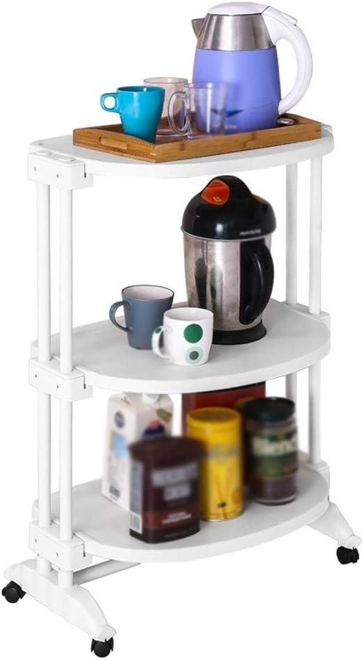 ZHJING Storage Shelf Kitchen with Rack New life Floor Finally popular brand Wheels