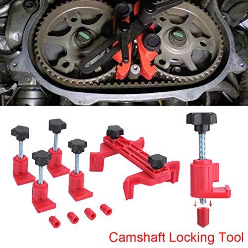 Kit de herramientas de sincronización Coche Auto Universal Abrazadera de leva dual Piñón del árbol de levas Motor de bloqueo del engranaje