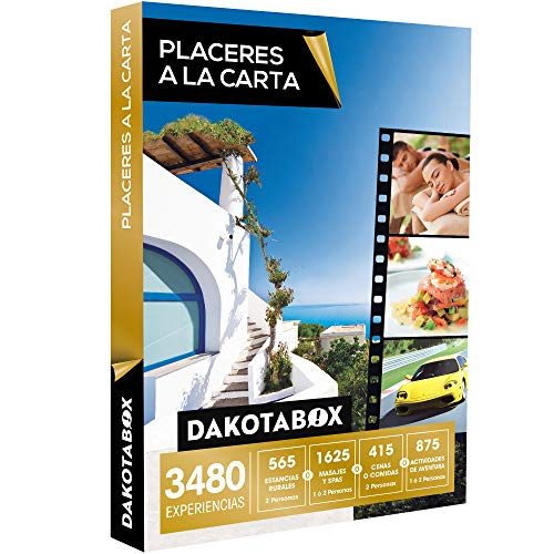 Smartbox DAKOTABOX - Caja Regalo - PLACERES A LA Carta - 3480 Experiencias imprescindibles