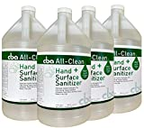 CBA All-Clean Hand & Surface Sanitizer - 4 x 1 Gallon