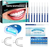 BEAU-PRO Kit Blanchiment Dentaire, 10*Gel de Blanchiment des Dents,...