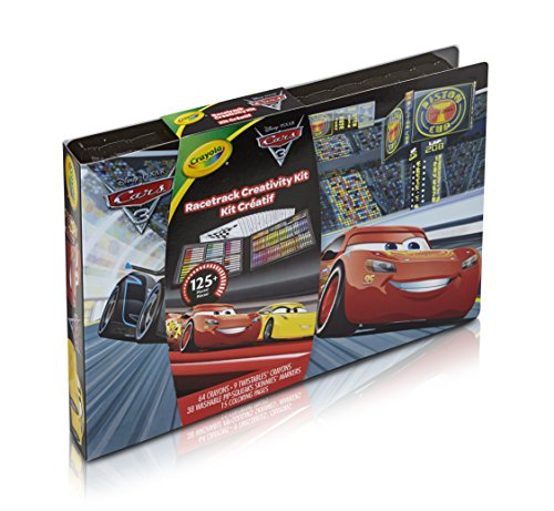 CRAYOLA 04-0290 - Maletín del Artista Disney Cars 3