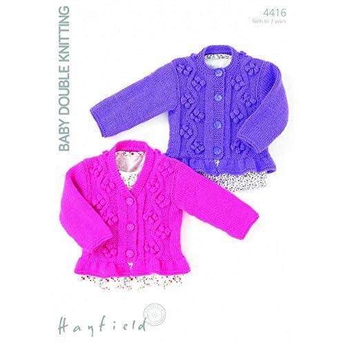 a55e2a8c1 Hayfield Knitting Pattern  Amazon.co.uk