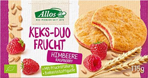 Allos Bio Keks-Duo Frucht Himbeere, 175 g
