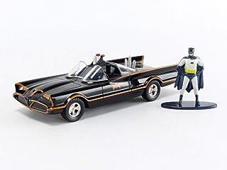1966 Batmobile with Diecast Batman Figurine Batman (1966-1968) Classic TV Series DC Comics Hollywood Rides 1/32 Diecast Mo...