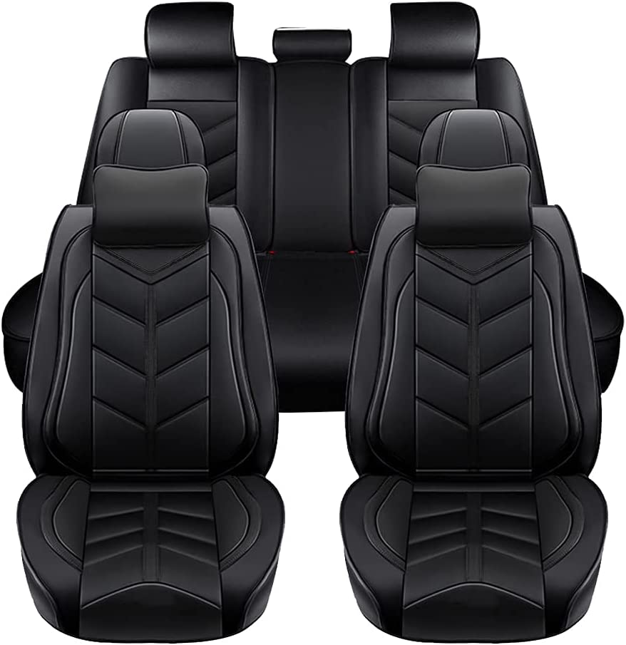 At the price Super PDR Full Tampa Mall Set Car Seat Covers Universal Luxury Leather
