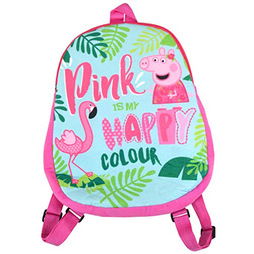 Peppa Wutz Kinder Rucksack Pink is My Happy Colour