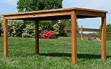 ECHT Teak Gartentische Holztisch Tisch in verschiedenen Größen - 4
