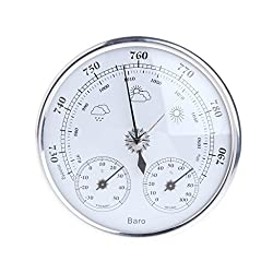 Sara-u Household Weather Station Barometer Thermometer Hygrometer Wall Hanging
