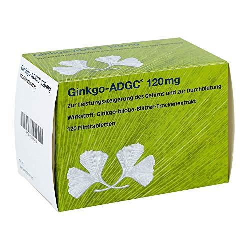Ginkgo ADGC 120 mg Filmtabletten, 120 St