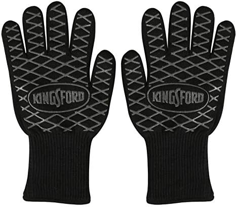 Kingsford BB12383 2 Count BBQ Grill Gloves Black product image