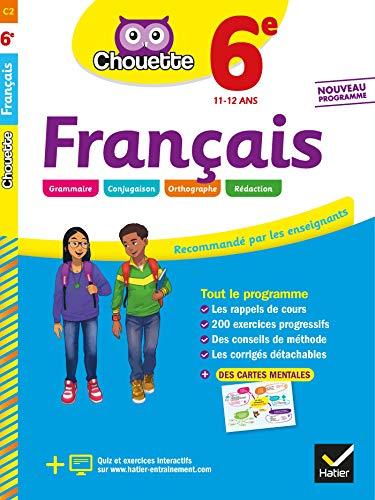 Français 6e: cahier d'entraînement et de révision