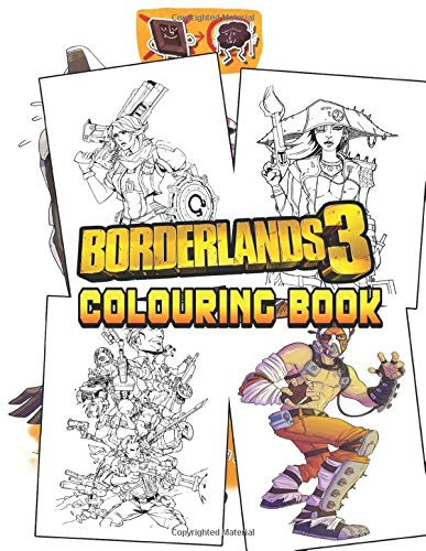 Borderlands Colouring Book: If you're a fan of Borderlands, you need to buy this colouring book with amazing colouring pages