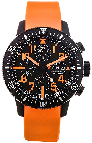 Limited Edition Fortis B-42 Black Mars 500 Automatic Chrono Mens Watch...
