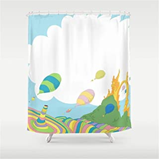 Home&hat oh The Places You'll go dr Seuss Shower Curtain 60