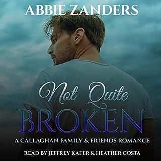 Not Quite Broken audiobook cover art