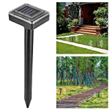 OurLeeme ultrasuoni energia Solare del Mouse Snakes Repeller per Outdoor Garden Yard Repel...