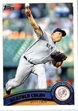 2011 Topps Update Series Baseball Card #US145 Bartolo Colon - New York Yankees - MLB Trading Card