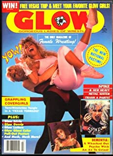 GLOW Gorgeous Ladies of Wrestling Magazine March 1988