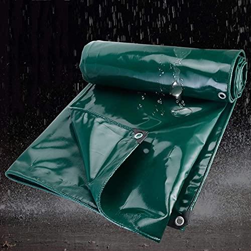 KMILE Hoja Azul a Prueba de Agua, Lona de PVC, Impermeable, Polvo, a Prueba de Polvo, protección de Lluvia Plegable, Cubierta de protección de Plantas para Veranda jardín, Campamento, al Aire Libre