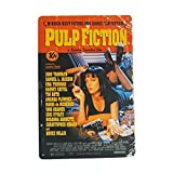 JTY store Vintage Wandkunst Dekor Zeichen Pulp Fiction