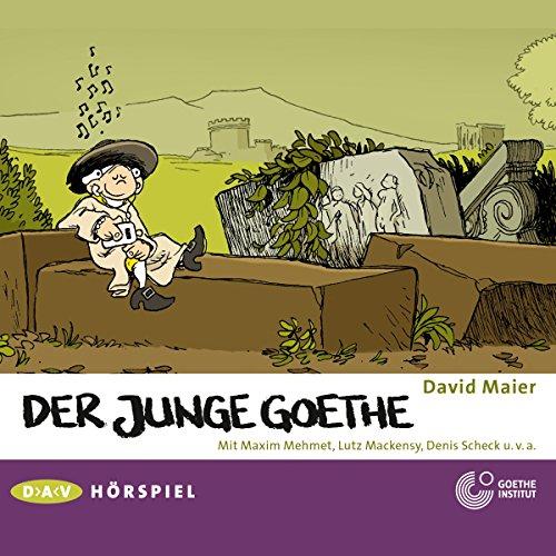 Page de couverture de Der junge Goethe