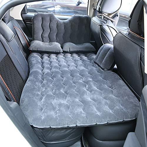 Reisen mit dem Auto aufblasbares Bett Universal-Auto-Spielraum aufblasbare Matratze Luftmatratze Camping Back Seat Couch, Größe: 90 x 135 cm (schwarz) Asun (Color : Black)