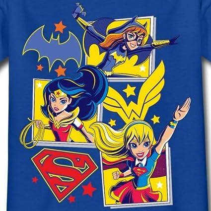 DC Super Hero Girls Batgirl Wonder Woman Supergirl T-Shirt Enfant