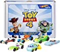 Hot Wheels Disney Pixar Toy Story 4 Character Cars 6 Pack Bundle [Amazon Exclusive] (GJD19)