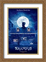 Krampus 28x38 Double Matted Large Large Gold Ornate Framed Movie Poster Art Print