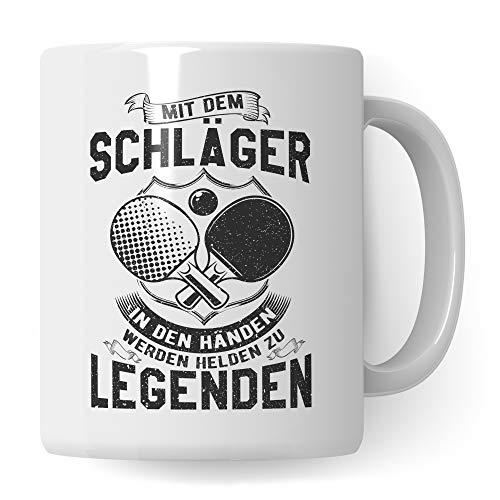 Pagma Druck Tischtennis Tasse, Tischtennis Geschenkideen Kaffeetasse für Tischtennisspieler, Tischtennis Geschenk