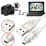 ILS. - 1.2M 4FT High Speed USB 2.0 Male to 4 Pin IEEE 1394 cavo Lead Extension Adattatore ...