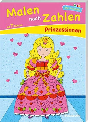 Malen nach Zahlen Prinzessinnen. Ab 7 Jahren: Für Prinzessinnen und Prinzen ab 7 Jahren