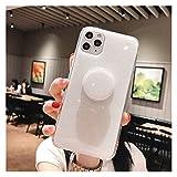Goplnma Candy Color Color Stand Titulaire Coque Téléphone pour Téléphone 12 11 12Pro Max XR XS...