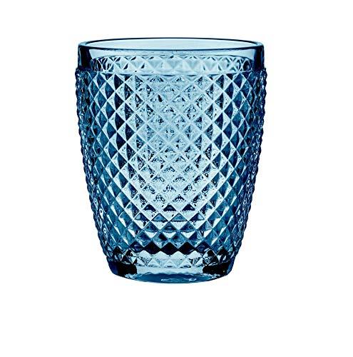 B'GHEST Set 6 uds. Diamante Vaso bajo Agua/Vino Fabricado en Vidrio. Capacidad...