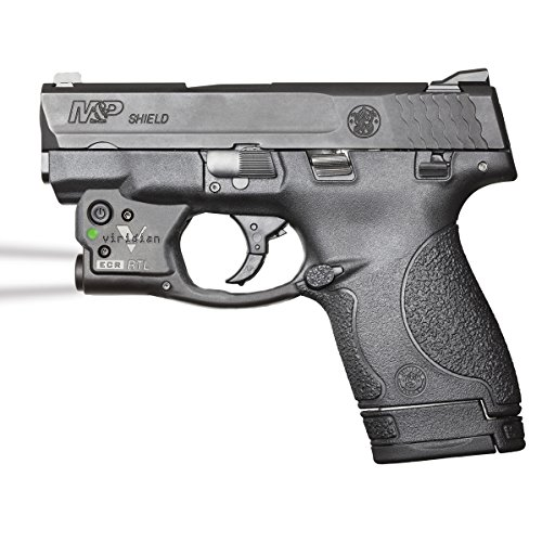 Viridian Reactor TL Tactical light for Smith & Wesson M&P Shield featuring ECR and Radiance
