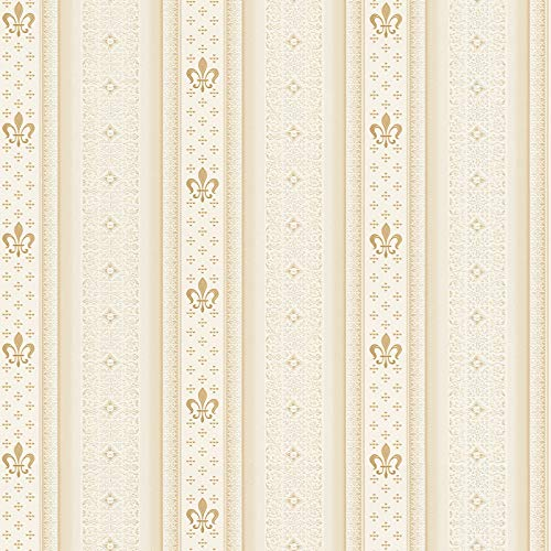 Vliestapete Barock-Tapete Ornament-Tapete 335424 33542-4 A.S. Création Hermitage 10 | Beige/Crème | Muster (21 x 29,7 cm)