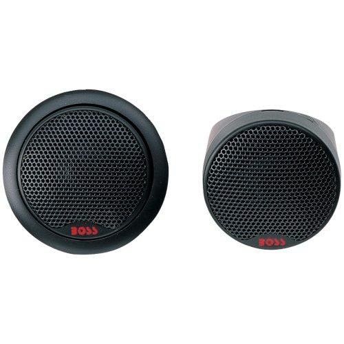 BOSS Audio Systems TW25 250-Watt 1 Inch Soft Dome Tweeters