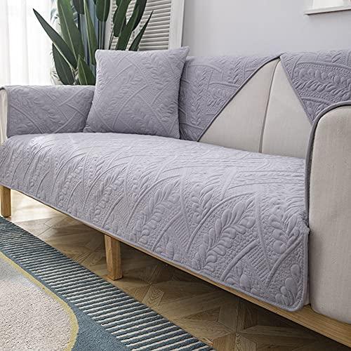 Mrzyzy Funda Sofa 3/4/2/1 Plazas Serie Gofrado Tridimensional Fundas de Sofa Ajustables Fundas Decorativa para Sofá Sueño Estampadas Universal Impresa Cubre Sofa (Color : D, Size : 90 * 180CM)