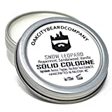 OakCityBeardCo. - Snow Leopard - Men's Solid Cologne - 1oz - Sandalwood - Peppermint - Vanilla -...