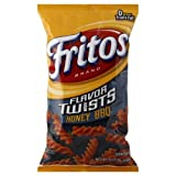 Fritos Corn Chips, Twists Honey BBQ, 10.5 Ounce (Pack of 5)