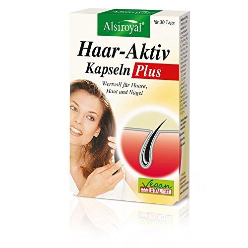 Cápsulas activas para el cabello plus (17 g).