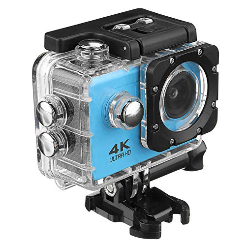 C-Funn Sj9000 WiFi 4K 2 inch 1080P Ultra HD Waterdicht Sport Action Camera DVR - Blauw
