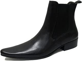 IKON Original Mens Leather Winklepicker Revolver Beatle Boot