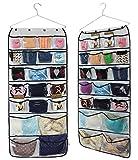 Misslo 42bolsillos de almacenamiento para colgar ropa en el armario, bolsillos organizadores para prendas de ropa y ropa interior