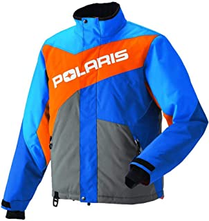 polaris snowmobile jacket blue