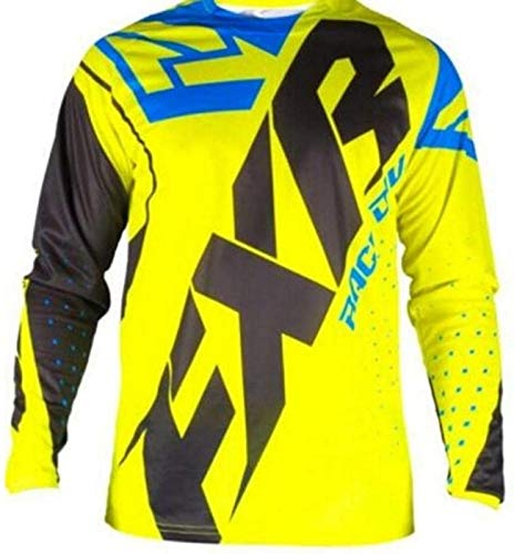 Maillot MTB Trek Long Sleeve Cycling Jerseys MTB Boys Mountain Bike Clothing...