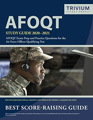 AFOQT Study Guide 2020 2021 AFOQT Exam Prep and Practice Questions for the Air Force Officer product image