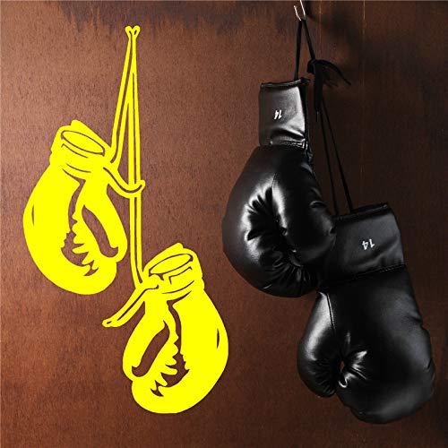 Boxhandschuhe Wandkunst Aufkleber Vinyl Zimmer Aufkleber Hängehandschuhe Turnhalle Aufkleber Turnhalle Wandkunst Aufkleber 54 x 102 cm